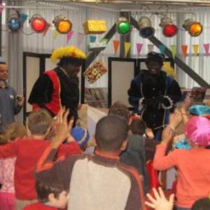 Sinterklaasshow Pieten Disco Pret Show inzetten