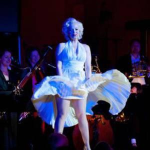 Look a Like  Marilyn Monroe inhuren voor een optreden