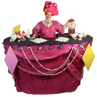 Download promotiefoto van Miss Mable Table - Snoepjes