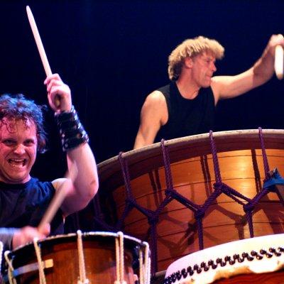 Download promotiefoto van Circle Percussion - Slagwerkgroep