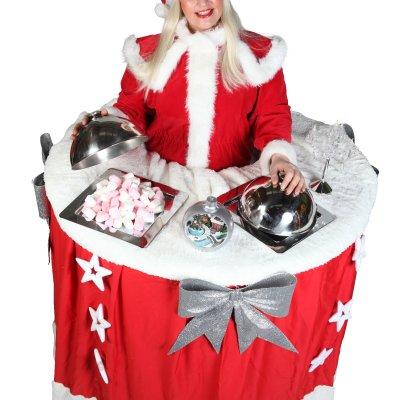 Promotiefoto Walking Christmas Table