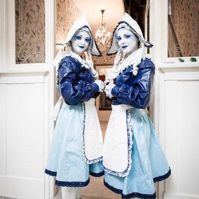 Download promotiefoto van Levend Standbeeld - De Hollandse Dames