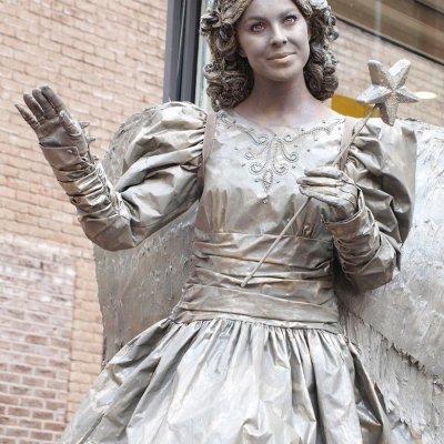 Promotiefoto Levend Standbeeld - De Engel