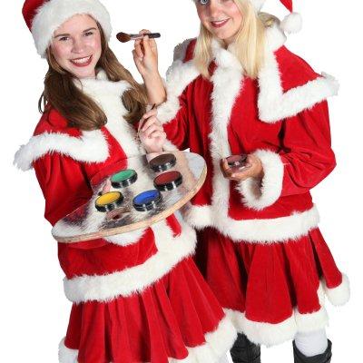 Promotiefoto Kerst Schminkstand