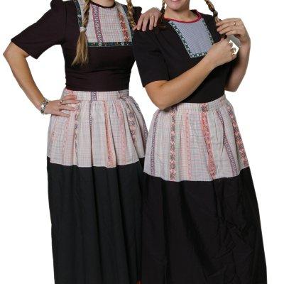 Promotiefoto 2 Oud-Hollandse Volemdamse meisjes