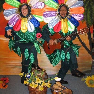 Promotiefoto De Zingende Bloemen - Los del Sol