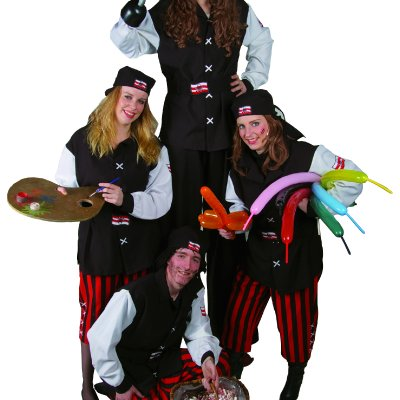 Download promotiefoto van Het Te Gekke Piraten Team