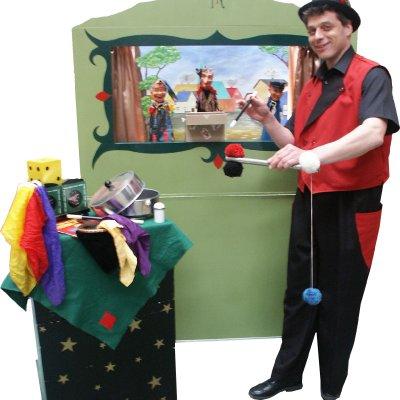 Download promotiefoto van Goochelaar Richard Top Kindershow