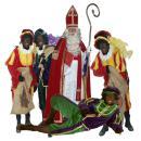 Sinterklaas huren | Sinterklaas en 4 Zwarte Pieten huren of inhuren