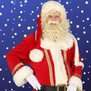Winkelcentrum promotie   Rondlopende Kerstman inhuren of boeken