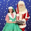 Winkelcentrum promotie | Zoen van de Kerstman & het Kerstvrouwtje inhuren of boeken