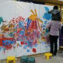 Winkelcentrum promotie | Kunst 4 Kids met Voorjaarstekening huren