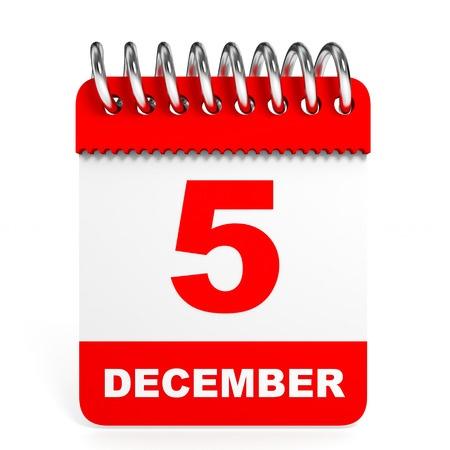 5 december is de verjaardag van Sinterklaas