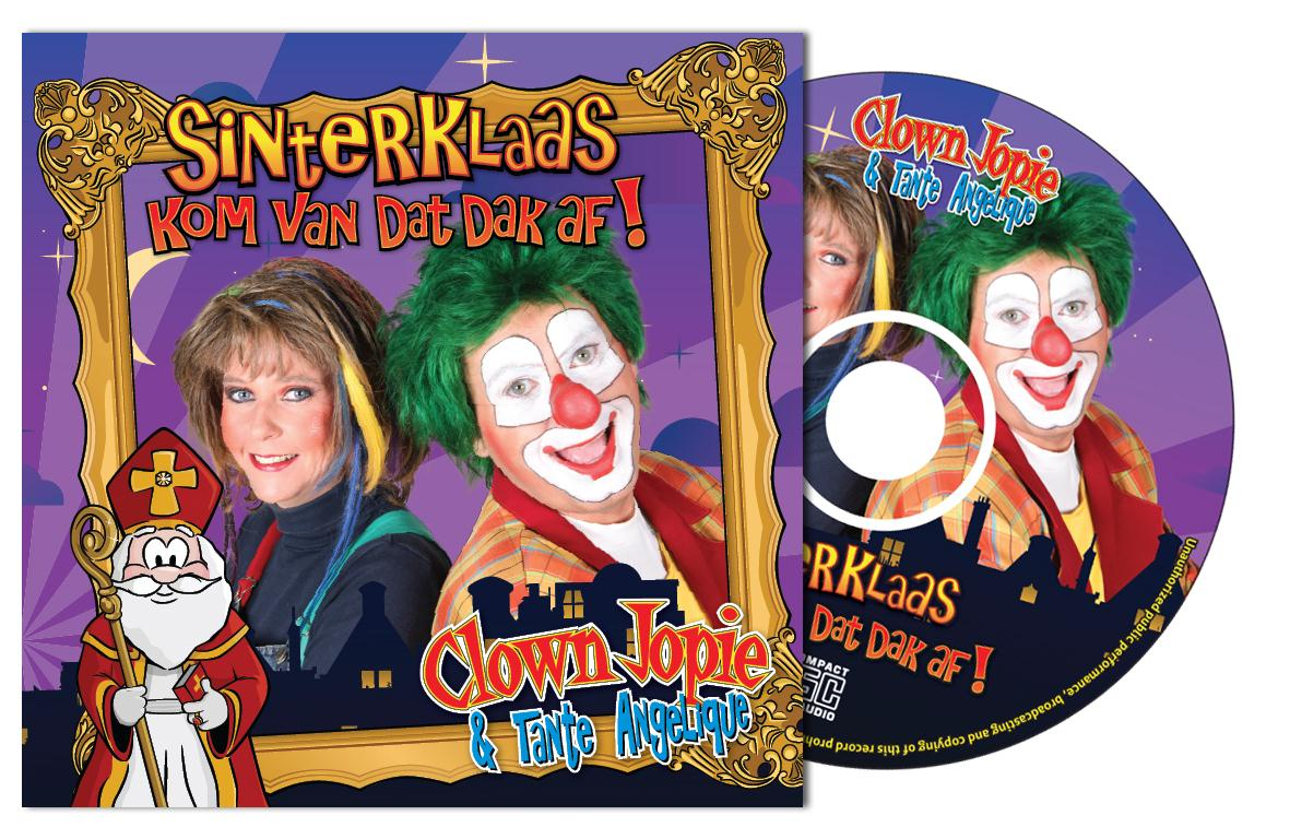 Sinterklaas Cadeautip CD Clown Jopie en Tante Angelique