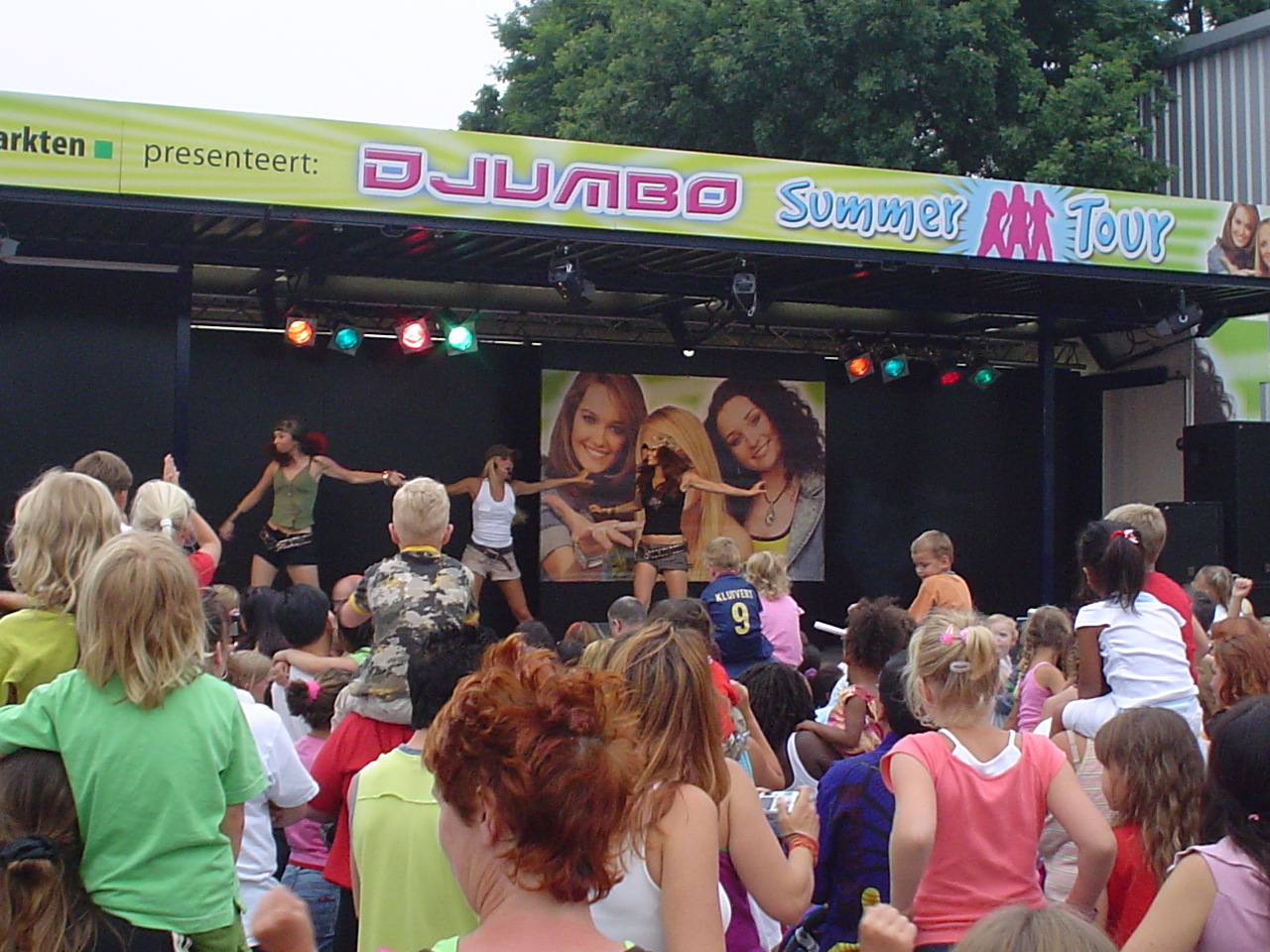 JB Productions & Jumbo Supermarkten ontwikkelen Djumbo Summer Tour