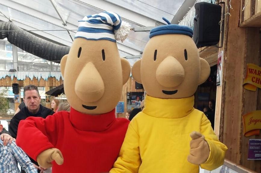 Boek al je characters, looppoppen en kidshelden bij Looppop.nl