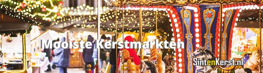 De mooiste Kerstmarkten van Nederland