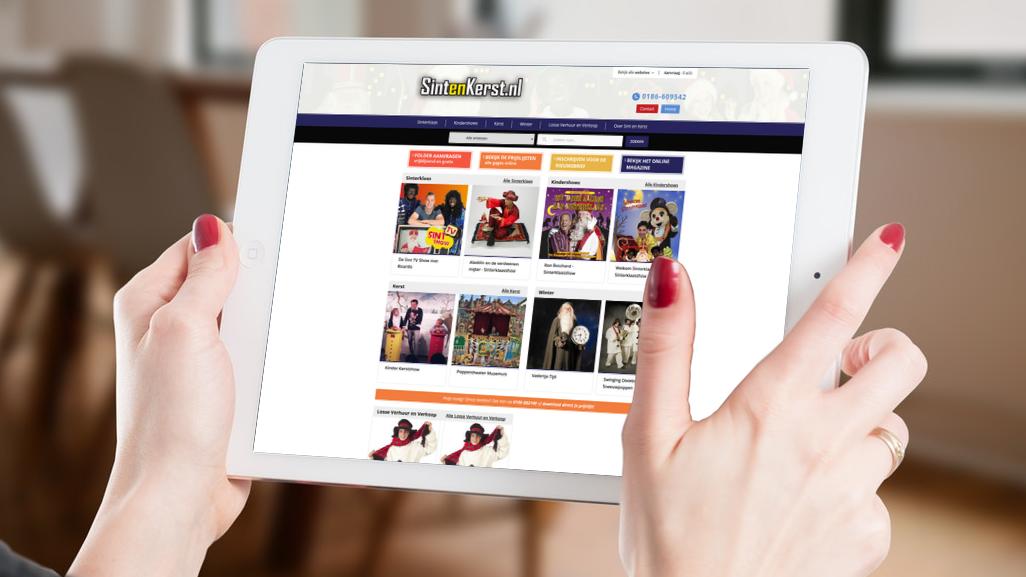 De nieuwe site van SintenKerst.NL