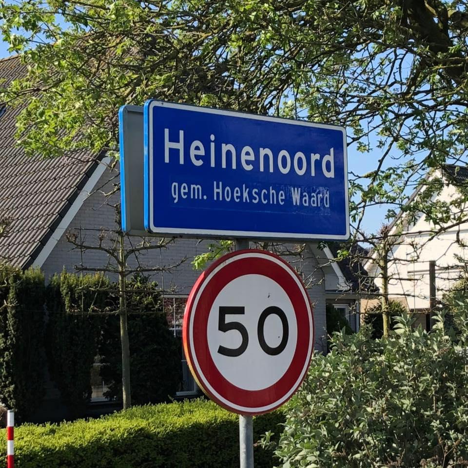 Waar ligt Heinenoord
