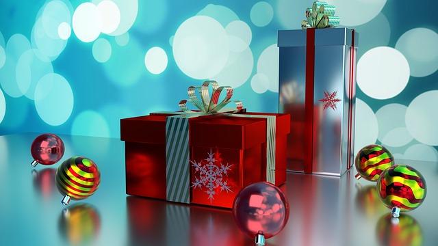 Geven van Kerstcadeaus